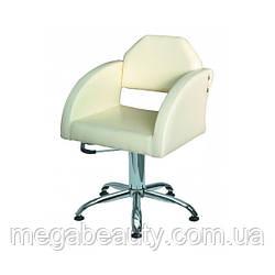 Кресло парикмахерское CORNELIA на гидравлике хром