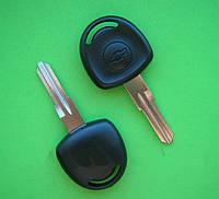 Chevrolet - заготовка ключа под чип, HU46