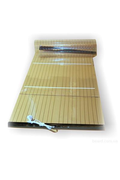 Плівковий мобільний тепла підлога ТРІО. Розміри, щоб лежати, 180х60 див. Потужність 250 Вт. Вага 300 грам. 55 градусів