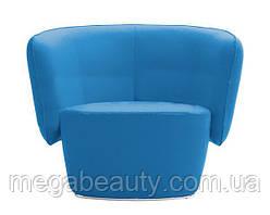 Кресло для ожидания LW325 синий цвет