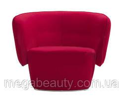 Кресло для ожидания LW325 красный цвет