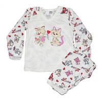 Пижама для девочки Фламинго, р-р 98-134