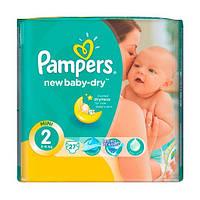 Подгузники Pampers New baby (3-6 кг), 27 шт