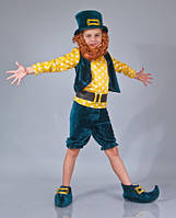 Детский костюм Гномик зеленый