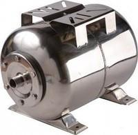 Гидроаккумулятор Euroaqua ёмкость 50 литров , горизонтальный , из нержавеющей стали