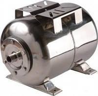 Гидроаккумулятор Euroaqua ёмкость 50 литров , горизонтальный , из нержавеющей стали, фото 2