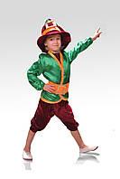 Детский костюм Гномик бордовый