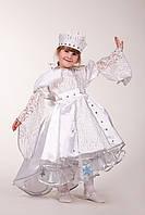 Детский костюм Зимушка-зима с короной