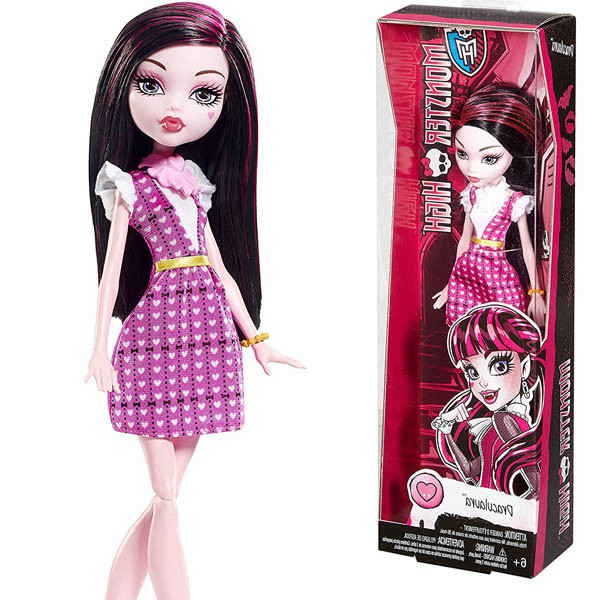 кукла Monster High Draculaura Doll Монстер Хай Дракулаура Бюджетная