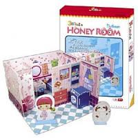 Пазл 3D ТМ СubicFun Комната Хани - ванная комнат C051-04hа