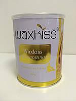 Воск тёплый в банке Мёд, 800г Waxkiss