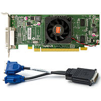 Видеокарта PCI-E ATI Radeon HD6350 512Mb Low + VGA адаптер