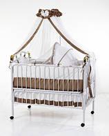 Детская кроватка-трансформер с люлькой