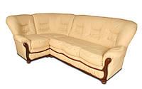 """Раскладной кожаный угловой диван  """"Премьер"""". (275*173 см)"""