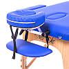 Двухсекционный деревянный складной стол VICTORY (NEW TEC) темно-синий, светло-бежевый, фото 6