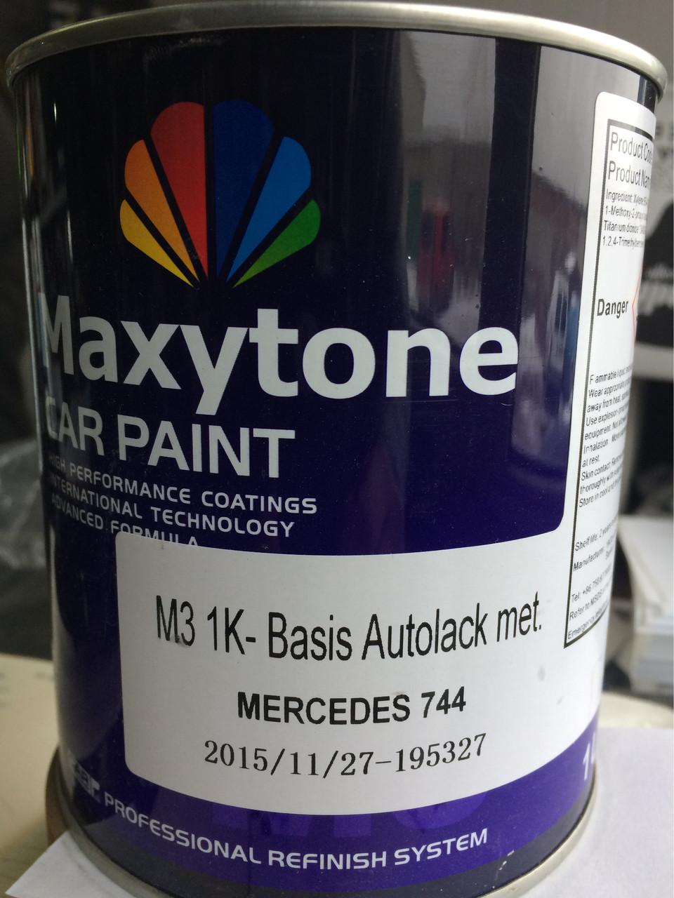 Краска металлик Maxytone Mercedes mb744 ,9744
