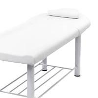 Кушетка косметологическая для наращивания ресниц, для депиляции, для массажа 285 А (белая)