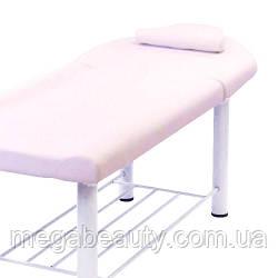 Кушетка косметологическая для наращивания ресниц, для депиляции, для массажа 285 А (светло-бежевая)