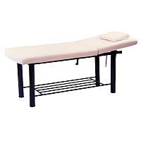 Кушетка для наращивания ресниц, для депиляции, для массажа 285 В (светло-бежевая)