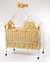 Детская кроватка металлическая Good Baby Geoby