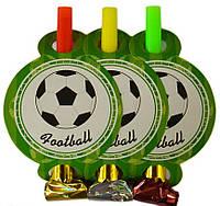 Язычок - дудка Футбол 6 штук