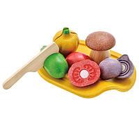 """Деревянная игрушка """"Овощное ассорти"""", PlanToys"""