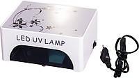 УФ лампа для сушки ногтей LED CCFL 30W для полимеризации гелей, гель-лаков и материалов для наращивания ногтей 017