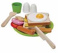 """Деревянная игрушка """"Меню к завтраку"""", PlanToys"""