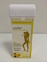Теплый воск в картридже (кассете), для депиляции Лимон 100 г, Waxkiss