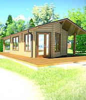 Проектирование и строительство саун, бани деревянной из профилированного бруса , фото 1