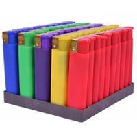 Зажигалка Цветная резина 707-2