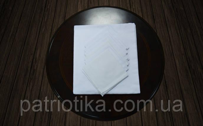 Комплект столовый белый | Комплект столовий білий 120x145, фото 2