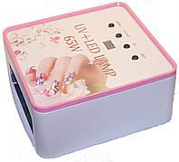 УФ лампа для сушки ногтей UV LED CCFL 65W для полимеризации гелей, гель-лаков и материалов для наращивания ногтей