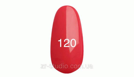 Гель лак Kodi professional 7мл. №120 (Карминово-розовый)