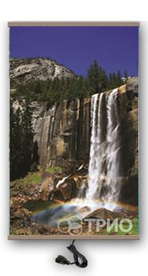 Настінний плівковий обігрівач ТРІО Водоспад (400 Вт, 60x100 см, 0.7 кг). Гарантія 12 міс.