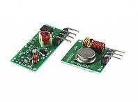 RF комплект беспроводной приемник и передатчик 433 МГц