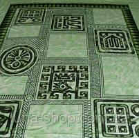 Плед из микрофибры Египет зеленый,160*210, 200*220, Польша