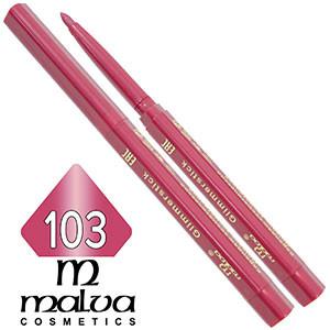 Malva - Карандаш M-300 для губ механический Тон №103 peony перламутр