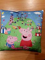Мягкая игрушка Подушка Свинка Пеппа, 35*35