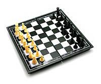 Шахматы на магнитах 26 см, фото 1