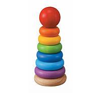 """Деревянная игрушка """"Пирамидка"""", PlanToys"""