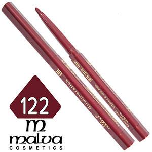 Malva - Карандаш M-300 для губ механический Тон №122 mocha матовый