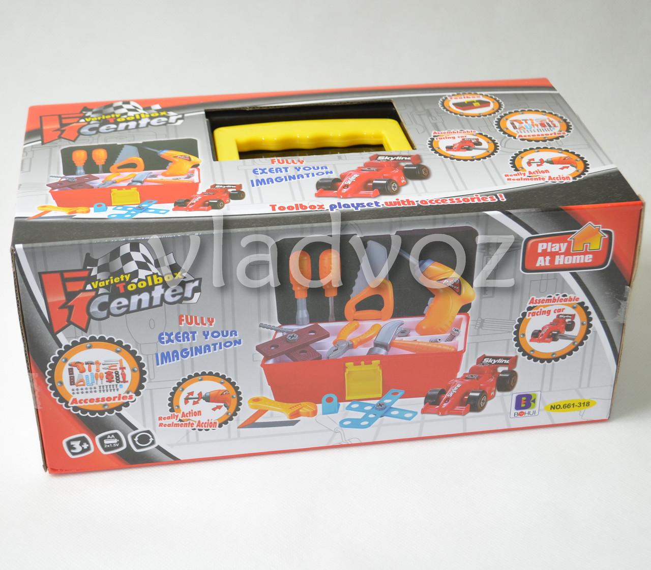 Упаковка детского набора инструментов Toolbox Center