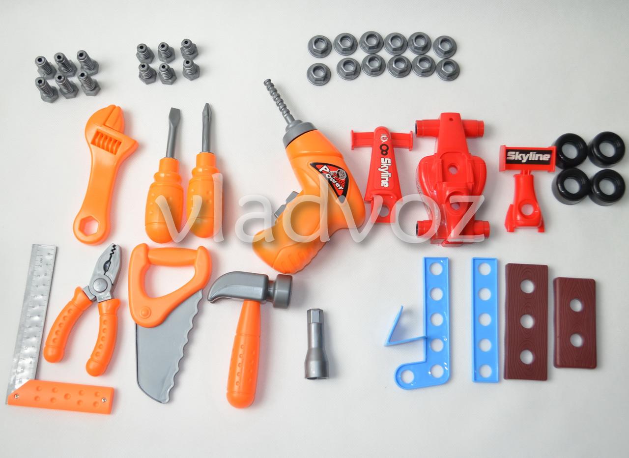 Комплектация детского набора инструментов Toolbox Center