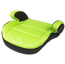 Автокресло бустер Wonderkids Honey Pad 15-36 кг (WK08-HP11-003) зелено-черный