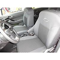 Чехлы модельные для Chevrolet Aveo SEDAN 11- (Раздельный) Elegant Avangard №314