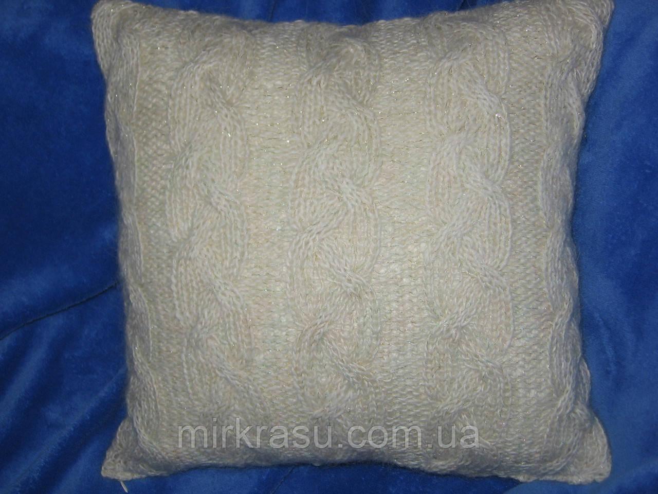 Декоративная диванная подушка ручной работы - Интернет-магазин «Мир КРАСОТЫ» в Харьковской области