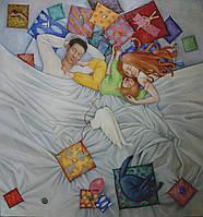 """Картина """"Родительство"""": Духовичная Анна 2000-е годы"""