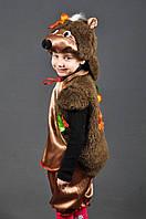 Новогодний карнавальный костюм Ежик с листиками мальчикам и девочкам 4-8 лет