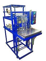 Автомат для упаковки парфюмерных коробок в пленку методом «конверт»